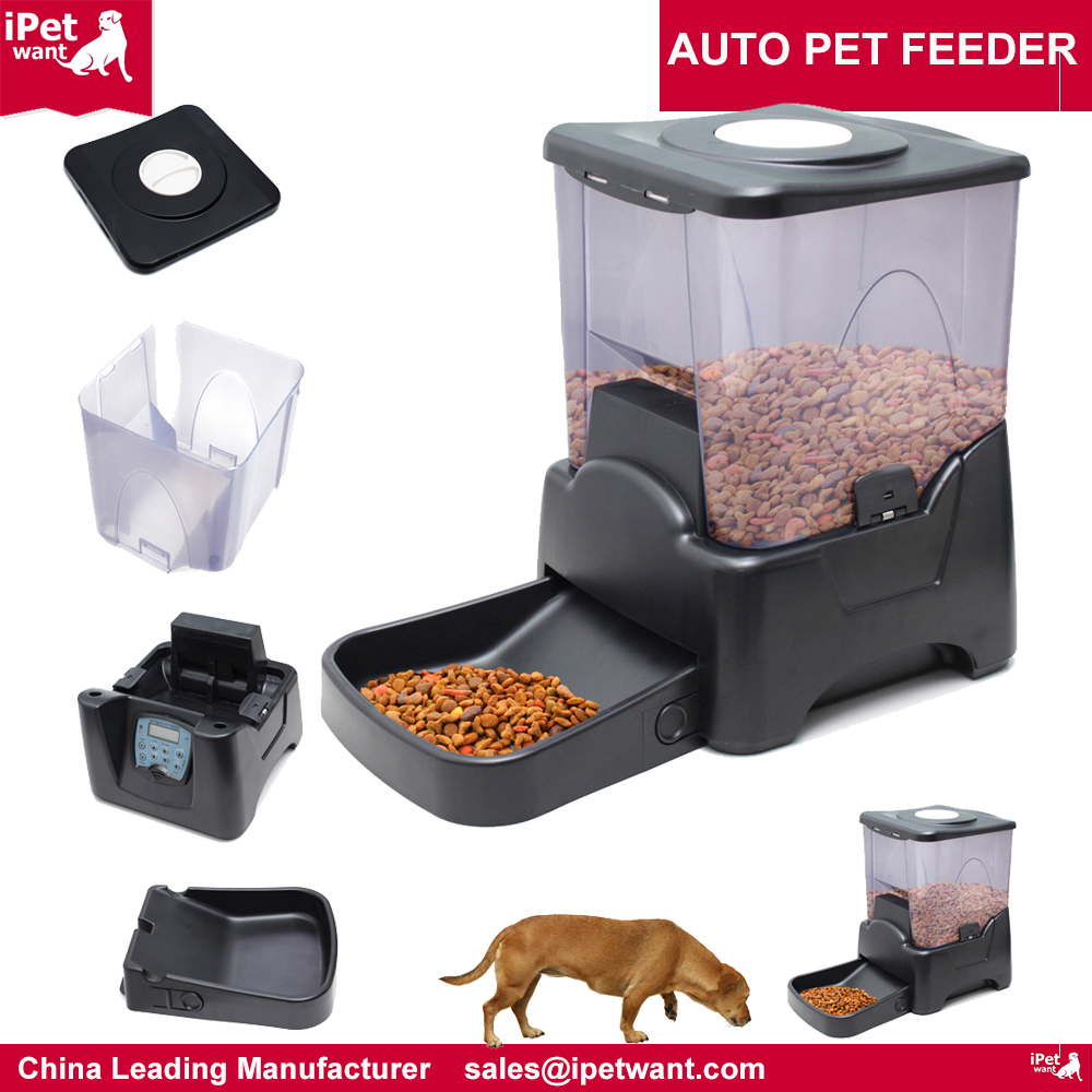 Automatic Electronic Timer Programmable Dog Feeder For