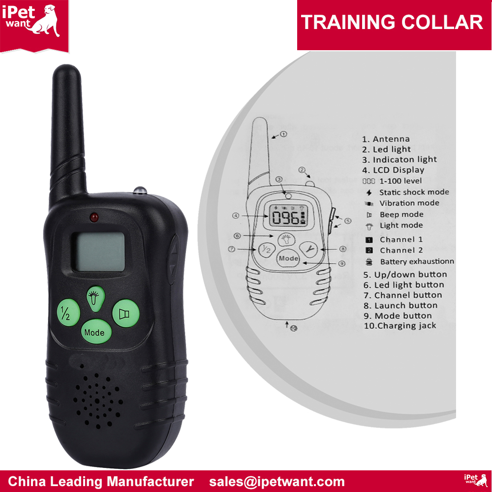 ipetwant-300yard-rechargeable-dog-training-collar-with-remote-m998n-1