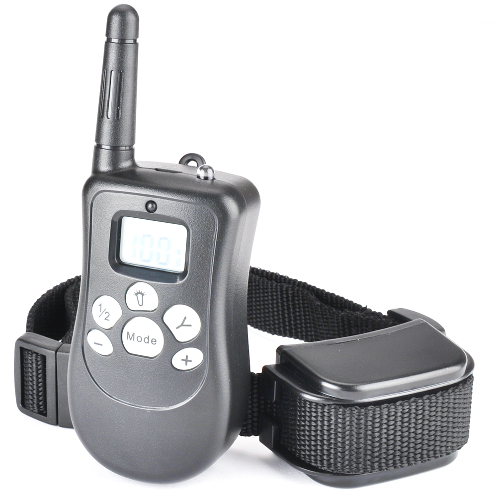 Dog Training Collar Rechargeable Rainproof 330 Yd Remote